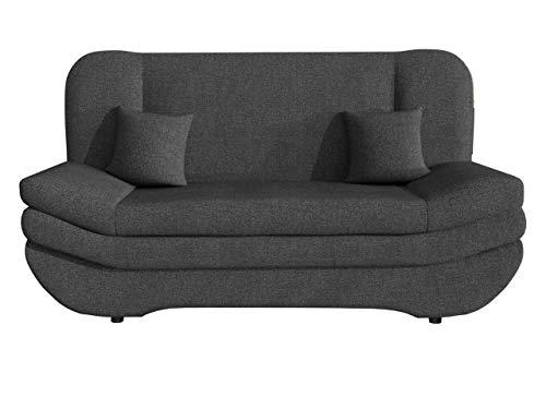 Mirjan24 Sofa Weronika mit Bettkasten und Schlaffunktion, Schlafsofa, Große Farb- und Materialauswahl, Couch vom Hersteller, Wohnlandschaft (Boss 12.)