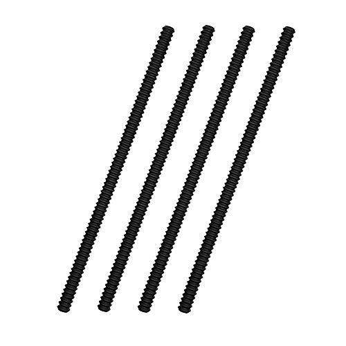 Timagebreze Protectores de Rejilla de Horno - Paquete de 4 Cubiertas de Silicona Resistente Al Calor para Rejillas de Horno Protector de Borde de Rejilla de Horno de 14 Pulgadas de Largo