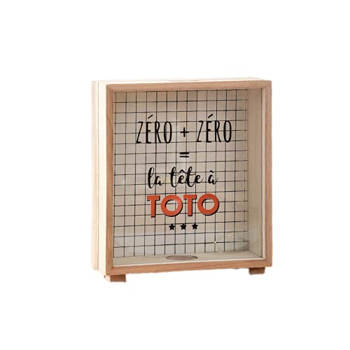EasenHub Toto Toto LargeCapacidad Piggy Bank, lindo tanque de almacenamiento lindo adornos de escritorio creativos para niño