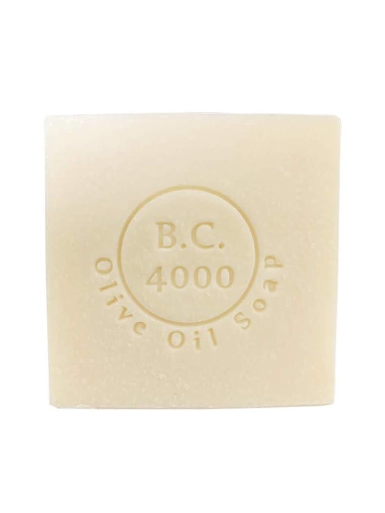 有効化アラート大惨事100% バージンオリーブオイル石鹸 B.C.4000 オーガニック せっけん 100g 1個