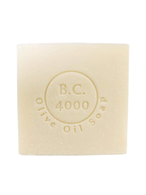 ぼろ計算するディーラー100% バージンオリーブオイル石鹸 B.C.4000 オーガニック せっけん 100g 1個