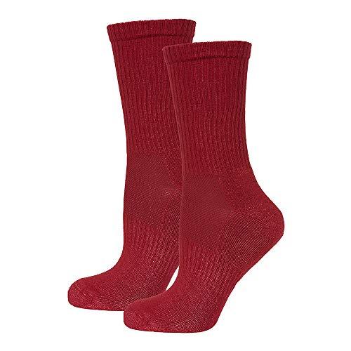 Safersox Mückenschutz-Socken Bordeaux, 39-42