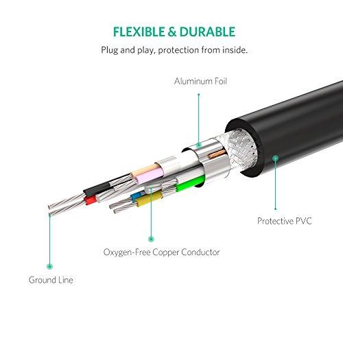 UGREEN USB Verlängerung Kabel aktiv 3.0 USB Verlängerungskabel Super Speed Kabel Stecker A auf Buchse A mit Signalverstärker Repeater (10M)