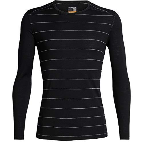 Icebreaker Merino Mens 200 Oasis Merino Wool Base Layer Long Sleeve T Shirt