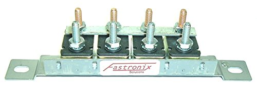 Fastronix Automotive Circuit Breaker Panel with Auto-Reset (4-20A Panel)