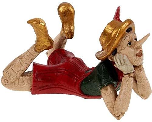 Pommerntraum ® | Dekorationsfigur | Schreibtischfigur | Dekorationsobjekt | Wohndekoration *** Pinocchio ***