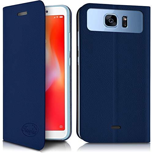 Karylax - Funda con tapa para Elephone A6 Mini, color azul