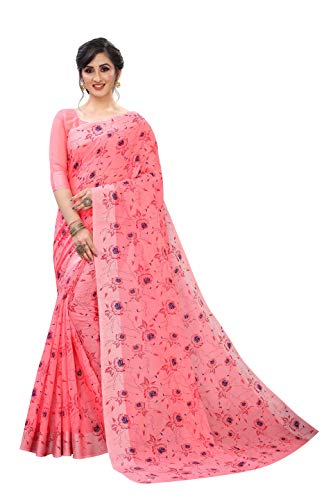 Impartus Hot New Releases Great Indian Festival Saree For Women Party Wear Half Sarees Offer Designer Below 500 Rupees Latest Design Under 300 Combo Art Silk New Collection 2021 In Latest With Designer Blouse Beautiful For Women Party Wear Sadi Offer Sarees Collection Kanchipuram Bollywood PURE LINEN SAREE WITH BEAUTIFUL BLOCK PRINT Embroidered Free Size Georgette Sari for Marriage Wear Original Sarees Wedding Casual Design With Heavy Blouse (Lilen Gajari)