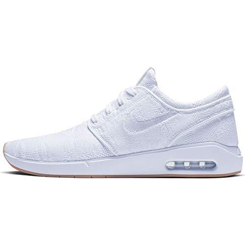 Nike SB Air Max Janoski 2 - Zapatillas de skate para hombre, Gris (Wolf Gris/Metálico Plata Negro), 41 EU