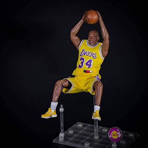 WSWJ NBA: Lakers - O'Neal Acción figurs de Colección Vinilo Figura 22cm