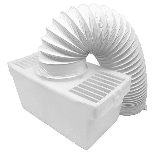 FIND A SPARE Universal Tumble Dryer Effective Indoor Internal Condenser Vent Hose Kit 4