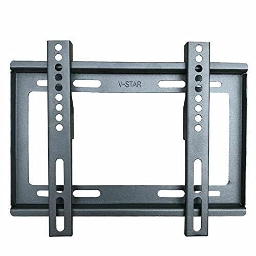 UK-TECH Soporte para TV – Soporte de pared para TV inclinable 14 15 20 23 25 30 32 38 40 42 TV Plasma LCD Led 3d – Universal – Fácil de instalar