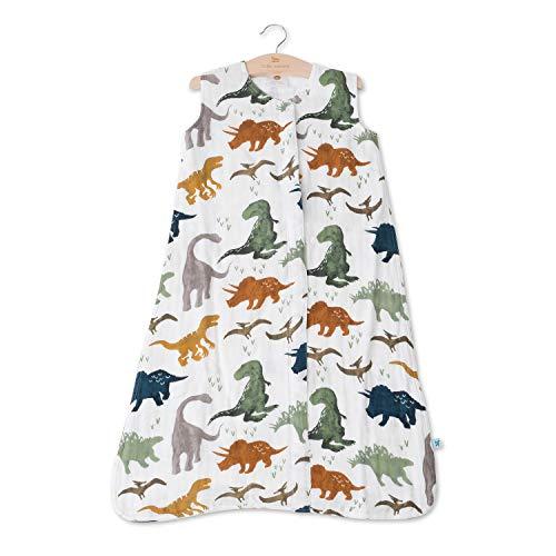 Little Unicorn | Cotton Muslin Sleep Bag Large - Gigoteuse mousseline coton taille L (Dino Friends)