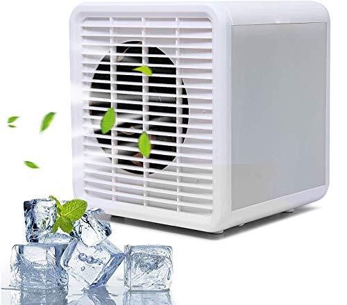 Klimaanlage,Mini Luftkühler,Mini Luftkühler mit Wasserkühlung,tragbare mobile klimaanlage luftkühler Verdunstungskühler mit 4 Timer Ideal für Schlafzimmer Wohnzimmer Büro Reise