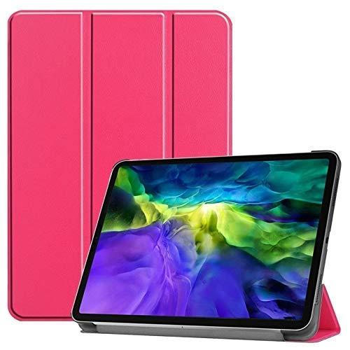Jennyfly - Funda de piel sintética para Samsung Galaxy Tab S4 de 10,5 pulgadas, con función atril y tres ángulos de visión múltiples, color rosa