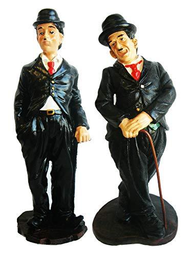 Creation Gross 2 er Set Figur Charlie Chaplin stehend, H:34 + 23cm (3300010+20)