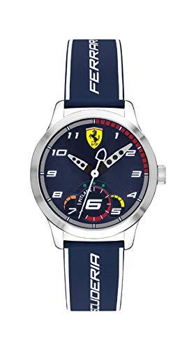 Scuderia Ferrari Reloj de pulsera Analógico Para Unisex Niños de Cuarzo con Correa en Silicona 860005
