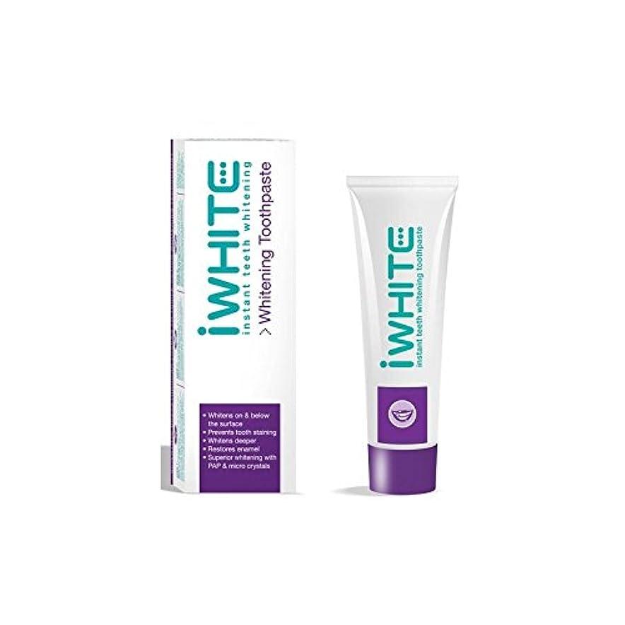 比類のない立ち寄る塊歯磨き粉を白くインスタント歯(75ミリリットル) x4 - iWhite Instant Teeth Whitening Toothpaste (75ml) (Pack of 4) [並行輸入品]
