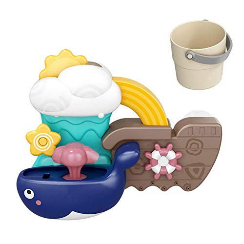 Baby Bath Toys Game, Bathtub Toy For Sensory Exploration And Learning Cause And Effect, For 1,2,3+ Year Old Boy Girl Toddler Gift Toys