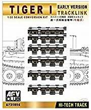 Afv Club - 1/35 Tiger I Early Version Workable Track Link Conversion Kit (Plasti
