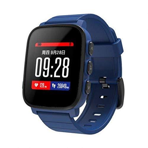 PRIXTON SWB31 – Smartwatch Reloj Inteligente Sumergible con Pulsómetro y 50 Watchfaces, Color Azul