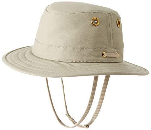 Tilley T5 Unisex Cotton Duck Hat (Khaki, 7 7/8)