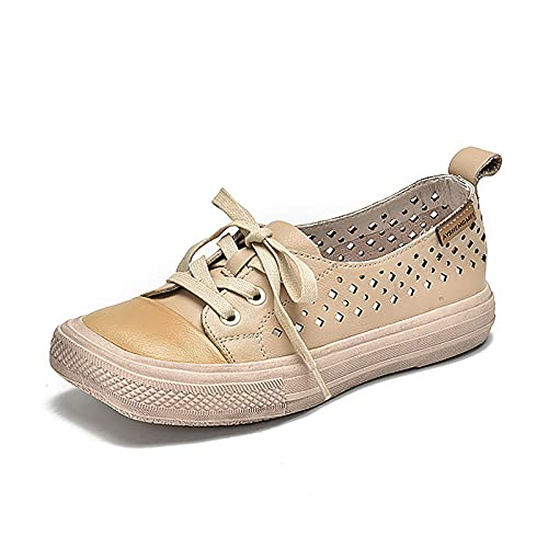 OJBK Sandalias De Punta Cerrada para Mujer Chanclas Abierta Tacón Plano Ajuste Ancho Zapatos Plataforma Cómodas Caminar Verano Peep Toe,Blanco,38
