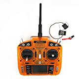 Vehicles-OCS 2.4GHz DSM2 6 CH RC Radio Transmitter Remote Control(Mode1 &Mode2) W/LCD Screen W/ MK620 Receiver for Helicopters Airplanes