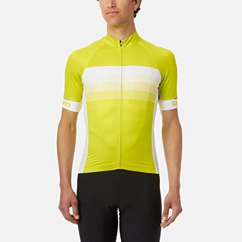 Giro Chrono Expert Trikot Herren Citron Green Horizon Größe XL 2019 Radtrikot kurzärmlig