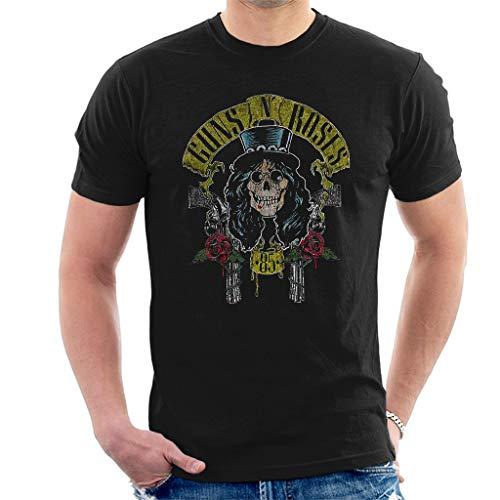 Rock Off Guns N' Roses Slash 85 Manches Courtes Hommes T-Shirt Noir XX-Large