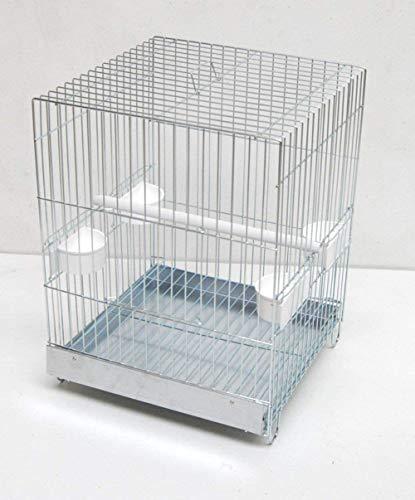M.O. Verchromter Papageien Transportkäfig