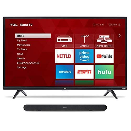"""TCL 49"""" TV & Alto 6 Sound Bar"""
