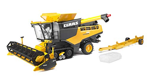 Bruder Claas Lexion 780 Combine Harvester, Yellow by Bruder Toys