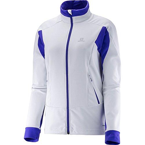 SALOMON Momemtum Softshell-Jacke JKT W - Jacke für Damen, Farbe Weiß, Größe XL
