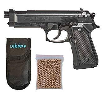 Pistola Perdigón Daisy 340. Calibre 4,5mm BBS. + Funda Portabalines + Balines....