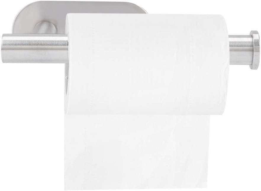 Easy-to-use Bathroom Toilet Paper Wall Mount Holder OFFer Bru Single