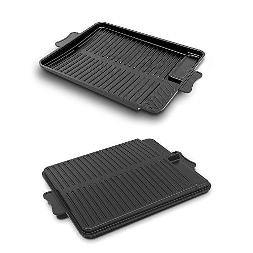 Nouveau Portable Grils de Cuisson Plateau de Pique-Nique Barbecue Grill Vaisselle Non Collante Barbecue Steak Frying Pan for Plein air Camping Outils