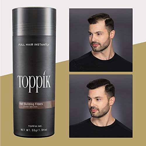 TOPPIK Hair Building Fibers dark brown, 55 g