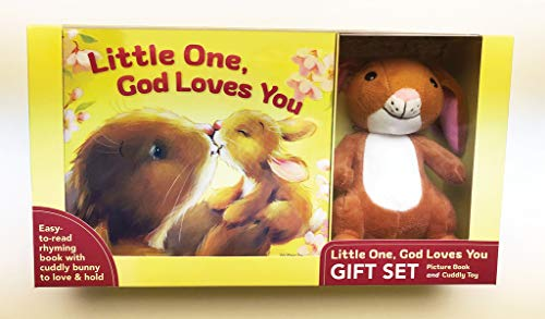 Compare Textbook Prices for Little One, God Loves You Gift Set Gift Edition ISBN 9780310768586 by Hilliker, Amy Warren,Lovsin, Polona