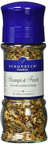 Schuhbeck Schuhbecks Gewürzmühle Scampi und Fisch, 1er Pack (1 x 48 g)