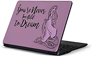 Skinit Decal Laptop Skin for Chromebook 3 11.6in 500c13-k01 - Officially Licensed Disney Rapunzel Never Too Old to Dream Design