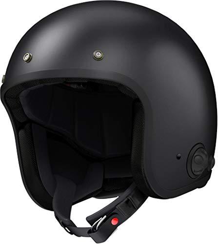 Sena SAVAGE-CL-MB-L-02 Helm, Mattschwarz, L