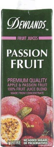 デューランド パッションフルーツ&アップルジュース(果汁100%)/共同食品  1L 1本