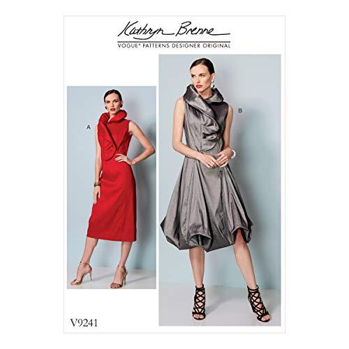 VOGUE PATTERNS Patrons Robes de Miss, Multicolore, Tailles 14–22