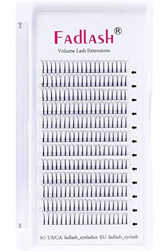 Volume Russe 3D 0.10mm C Crul 13mm Individuels Volume Russe Volume Cils Extensions Cluster Russe Cils Volume Professionnel Extensions pour la Beauté