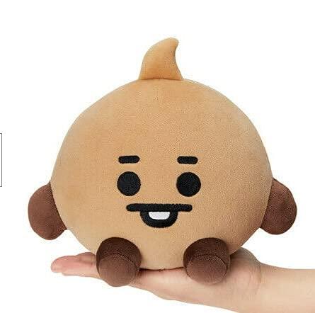 KOPI Super Estrella de Peluche de Juguete de Dibujos Animados Animal muñeca Llavero Felpa de pie niños bingan-12CM