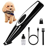 BABYLTRL Dog Clippers, Cordless Cat and Small Dogs Clipper, USB Rechargeable Low Nosie Electric Pet Trimmer, Dog Grooming Clippers for Trimming The Hair Around Face, Paws, Eyes, Ears, Rump