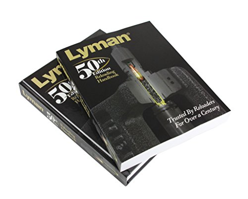 Lyman 50th Edition Reloading Handbook Softcover, Black