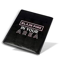 Blackpink ブックカバー 文庫本 高級PUレザー 文庫 おしゃれ カバー サイズ調整可 文庫判 資料 収納入れ オフィス用品 読書 雑貨 プレゼント耐久性に 28x51cm