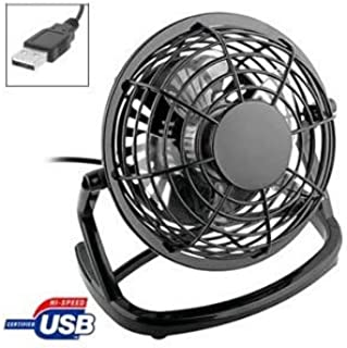 Negro PC ventilador USB de escritorio - PC, Laptop, Mac por adminículo jugo